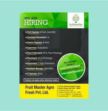 Fruit Master Agro Fresh Ltd